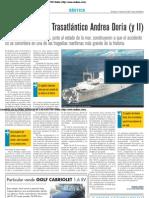 El naufragio del trasatlántico 'Andrea Doria' (y II)