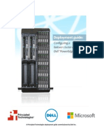 Configuring a failover cluster on a Dell PowerEdge VRTX