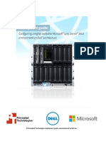 Configuring a highly available Microsoft Lync Server 2013 environment on Dell architecture