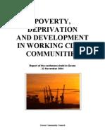 Govan Community Council Conferece Report 2004