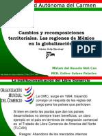 Cambios y Recomposiciones Territoriales