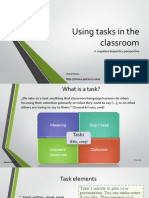 Using Tasks in the Classroom