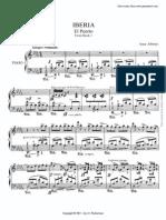 Ibanez- El Puerto spartiti per pianoforte