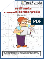 TestFunda Puzzles of the Week 2009