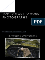 Top 10 Most Famous Photographs