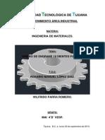 Proyecto de Engrane