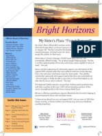 Bright Horizons Winter 2014
