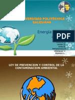 Ley de Prevención y Control de la Contaminación Ambiental