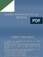 2 MODELOS MATEMÁTICOS DE SISTEMA