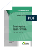 InversionExtranjeraYTributacionEnColombia