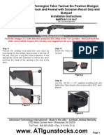 Remington Talon Tactical Six Position Shotgun