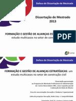 Defesa de Dissertação - Fábio Viana