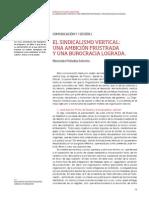 VII ENCUENTRO Sindicalismo Vertical