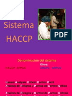 Sistema HACCP Mar