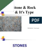 Stones & Its Type