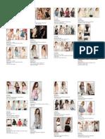 Pre Order Fashion CATALOGUE