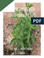 Stevia Manual