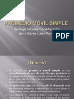PROMEDIO móvil simple