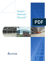 Aster Building Solutions Brochure