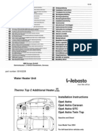 astra fault codes