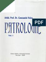 Arhid.prof.Dr. Constantin Voicu - Patrologie Vol.I