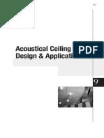 Cgc Construction Handbook Ch9 Acoustical Ceiling Design and Application Can en PDF