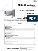 Sharp Lc 20b8us b9us Sm