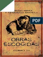 Marx y Engels Obras Escogidas Tomo III
