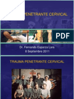 Trauma Penetrante Cervical