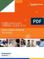 Arts & Social Sciences ~ Postgraduate Course Brochure (2014)