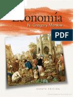 Principios de economía Escrito por Mankiw Gregory