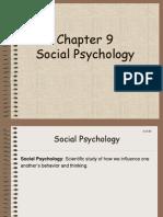 1-3 Chapter 9 Social Psychology