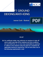 Aircraft Ground Deicing PPT