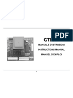 CTR17(8000) electric gate controller