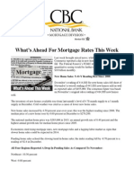 What is Ahead for Mortgage Rates This Week - February 3, 2014
