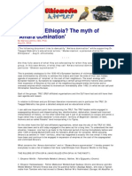 The Myth of Amhara Rule