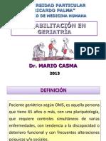6. Rehabilitación en Geriatría