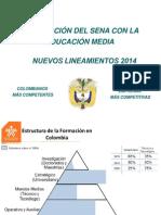 Lineamientos Integracion Con La Media 2012