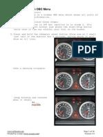 BMW E60 Hidden OBC Instructions