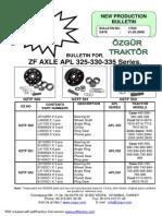 Zf Kit Bulletin Apl325-330-335