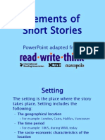 shortstory elements