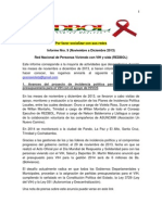 Informe Nro 9 de REDBOL (Noviembre a Diciembre 2013)