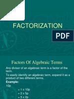Factor Ization