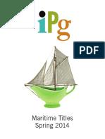 IPG Spring 2014 Maritime Titles