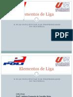 Elementos de Liga - Diogo Didier Andrade Santos