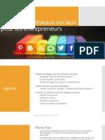 Stratégie de réseaux sociaux pour les entrepreneurs, UnionWeb