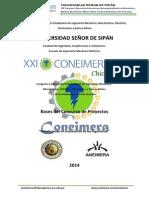Bases Del Concurso de Proyectos XXI CONEIMERA