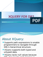 About XQuery: