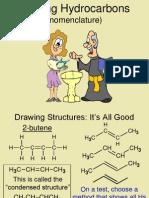 hydrocarbon-nomenclature
