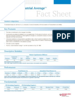 Dow Jones Industrial Average Fact Sheet